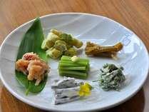 ≪初夏の一皿≫山菜の盛り合せ