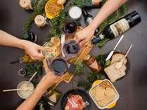 【平成最後の年は歴史的ビンテージになる見込み!】ボジョレヌーヴォー1杯×和牛炭火焼イタリアンディナー