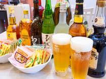 ハッピーアワー☆生ビールもあります!(ご利用可能時間 18:00~20:00)
