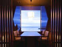 【確約☆】先着5卓の特典!海が見える個室席でのご夕食&お部屋は最上階!