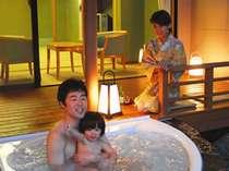 「露天風呂付和洋室」お子様連れにも人気の客室