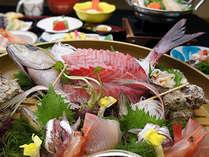 お刺身の桶盛りプラン料理イメージ