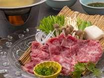 お肉好きにはたまらない和牛しゃぶしゃぶをお楽しみください。