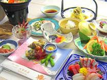 【ハマナスプラン】お料理グレードアップ!日本海の四季を味わう<全11品>