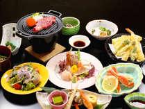 *【ハマナス会席(全11品)】季節の逸品やデザートなど、新潟食材をたっぷりとお楽しみいただけます!