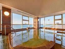 *大浴場/お肌がつるつるに。温熱効果に優れ、身体がことのほか温まります。