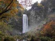 紅葉の平湯大滝