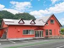 県道14号『冷川』バス停前 当館前にお車を駐車できます。