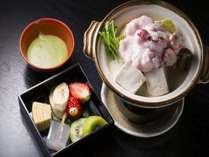 【じゃらん限定☆母&娘におススメ】桜色の淡雪鍋に季節のフルーツ重を抹茶フォンデュで♪