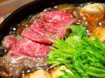 【♪新発売♪】やっぱり「肉」が好きなアナタに!お肉たっぷり「すき焼き」プラン