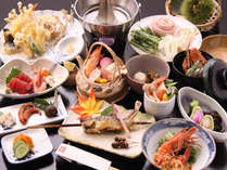 【秋冬】-記念日やお祝いを温泉宿で過ごす-ちょっぴり贅沢に【華月】かげつコース◆ご夕食は全11品