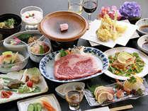 【夏旅】-記念日やお祝いを温泉宿で過ごす-ちょっぴり贅沢に【華月】かげつコース◆ご夕食は全11品
