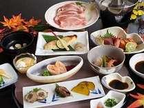 【ご夕食は県産豚ロースしゃぶしゃぶ含む全8品】気軽に旅するならこのプラン♪【風月】ふうげつコース☆