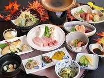 【ご夕食は全11品★常陸牛ステーキに舌鼓♪】-ちょっぴり贅沢に-【華月】かげつコース