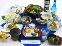 *山の幸を中心とした、旬の味覚満載のお料理♪(一例)