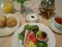 ♪自家製パンと地野菜の朝食♪ツインプラン