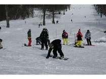 玉原スキーパークでのスキー・スノボーはぜひつつみ・すくえあで