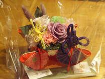 【お祝いや記念日に】お花やケーキなど大切な日を盛り上げる5つの特典付♪ <飛騨四季膳>