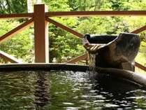 ■【貸切風呂】奥飛騨の木々に癒されます