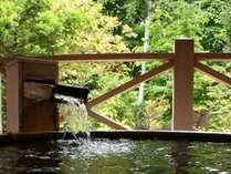■温泉の音と自然の香りを奏でる露天風呂