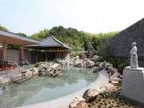 新しくなったよさこい温泉露天風呂『桂浜』