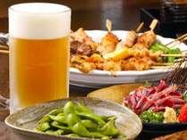 【まんぷく居酒屋プラン】磯旅にて専用メニューからご注文いただきお好きな料理を好きなだけ楽しめるプラン