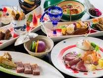 【創作×日本料理~絢~】鰹・天使の海老・鮑・和牛炙り焼きが楽しめる創作日本料理 一泊夕朝食付