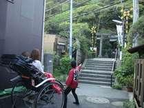 鎌倉名物「鎌倉力車の観光人力車」観光名所へらくらくご案内!