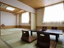 広々とした和室の一例(無料Wi-Fi完備)喫煙可です
