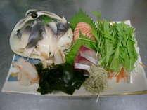 【夏の常陸鍋】ホッキ貝と地魚のしゃぶしゃぶプラン