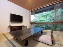 【山側和室8畳】40インチ液晶テレビ完備
