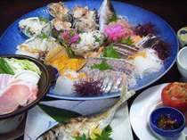 田の浦漁師の海席料理の一例