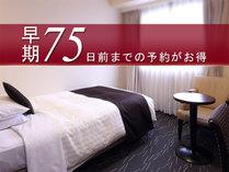 宿泊75日前までの予約が可能☆<素泊り>