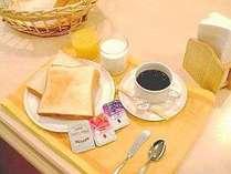 無料 朝の軽食サービス