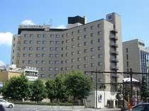 ■コンフォートホテル岡山■路面電車電停の目の前で遅くても安心♪
