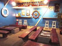 ■炭火焼 BBQガーデン■ 船内をイメージしたマリンテイストなバーベキューガーデンです。