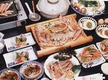 カニフルコースお料理例(約2人前)