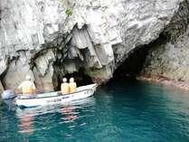 【サッパ船で行く!青の洞窟】乗船券付きバイキングプラン