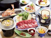 【旬の会席料理】前沢牛すきやき膳