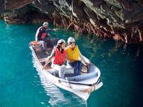 【願い事が叶うかも…?】浄土ヶ浜「青の洞窟 サッパ船」乗船券付バイキングプラン