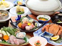 【旬・冬の味覚】毛ガニ・どんこ鍋料理