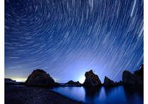 【幻想的な世界へご案内】夜の浄土ヶ浜を歩こう♪ナイトツアー付きプラン