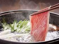 【黒毛和牛しゃぶしゃぶ】ふわ~っと溶ろける黒毛和牛と季節の野菜をしゃぶしゃぶ鍋で♪