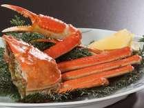 茹で蟹半身