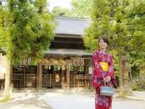 【玉作湯神社】勾玉の神様と温泉の神様を祀る神社。自分だけのお守りを作ることが出来る。