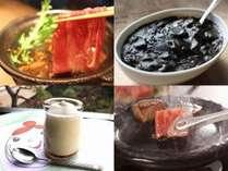 【和牛食べ比べプチ会席】すき焼き×和牛入り黒カレー×ステーキ!