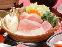 【秋の花舞会席2019】奥出雲豚とキノコの豆乳鍋