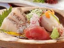 【秋の花心会席2019】地魚鮮魚3種盛り