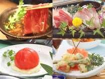 【夏の黒毛和牛すき焼き鍋会席】SNSで話題の完熟丸ごとトマトサラダ付☆