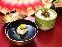【2019冬】かに味噌豆腐清ましと和牛しぐれ煮御飯